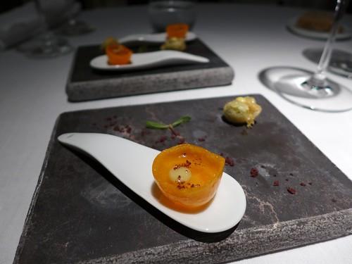 Martin Berasategui sea crunch tempure