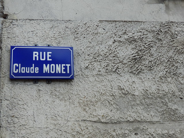 Calle Claude Monet (Giverny)