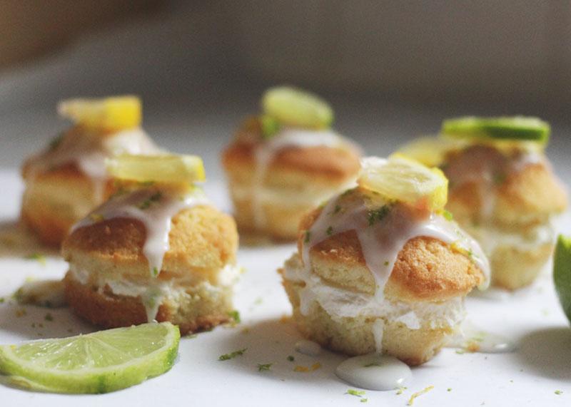 lemon and lime cupcakes, Bumpkin Betty