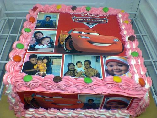 Terjual Kue Ulang Tahun Dgn Foto Edible