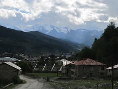 The road to Mestia, Georgia