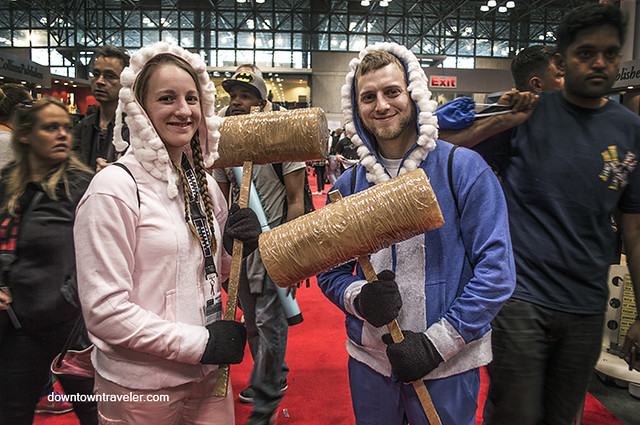 NY Comic Con 2014 Ice Climbers Super Smash Bros