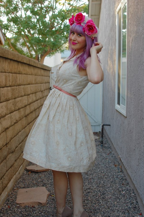 Modcloth Garden Sketch dress 006