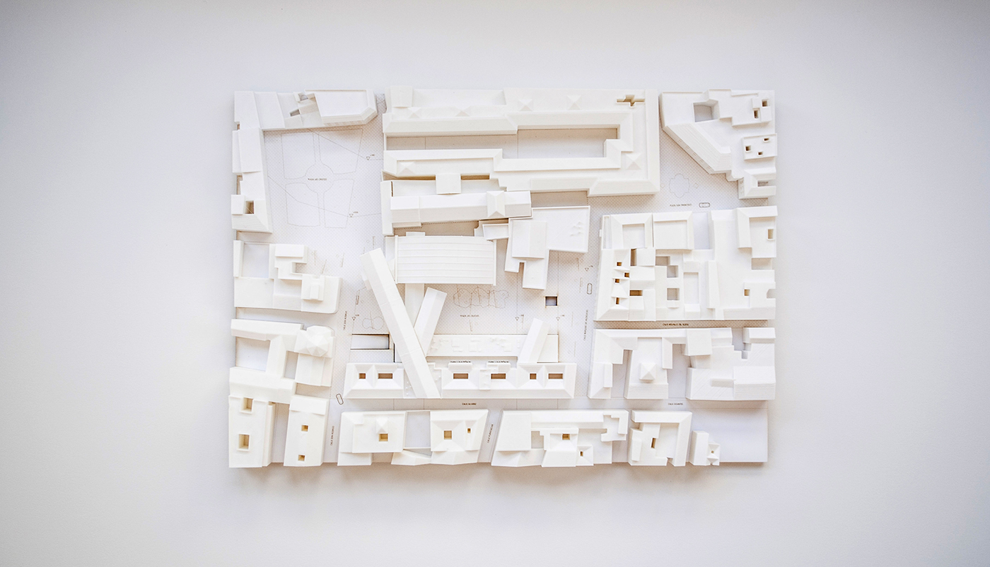 3D Printed Architectural Model — Nono Martínez Alonso