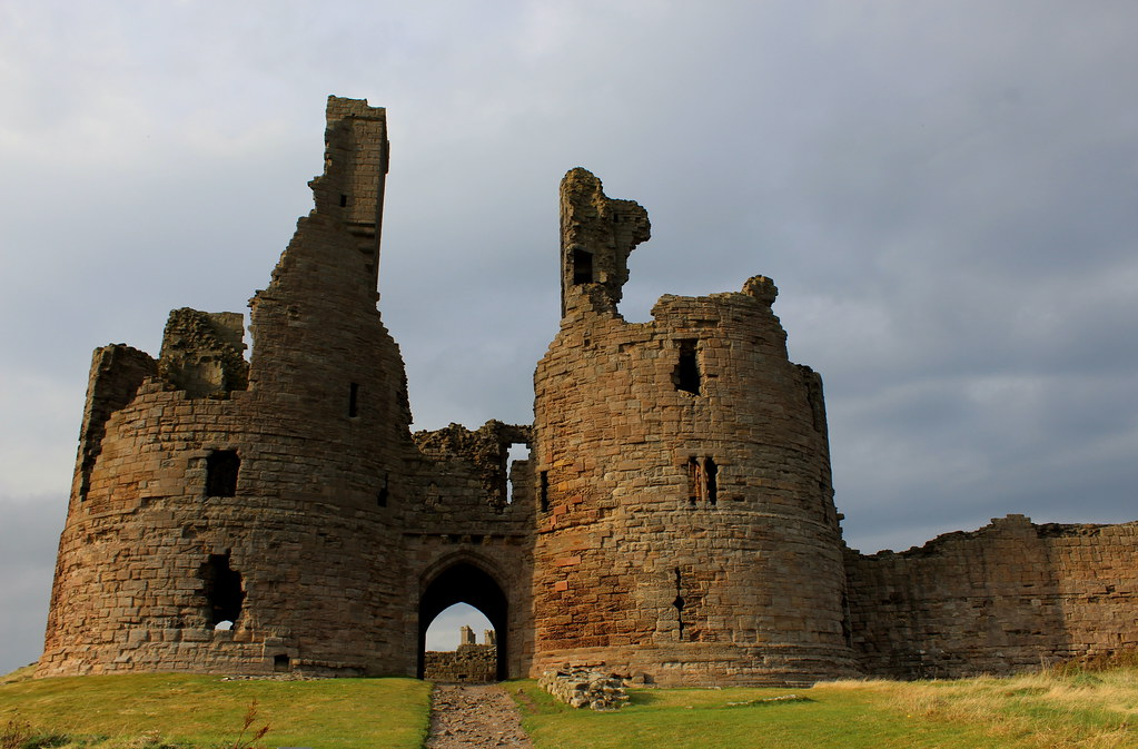 The Gatehouse at Dunstanburgh Castle