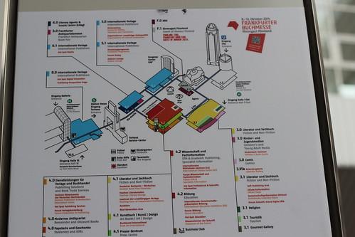 Plan Frankfurt Buchmesse 2014