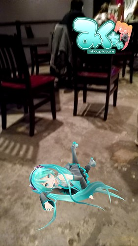 International Pop Superstar Hatsune Miku has clearly had too much too drink at The Wind Up Space in Baltimore.
