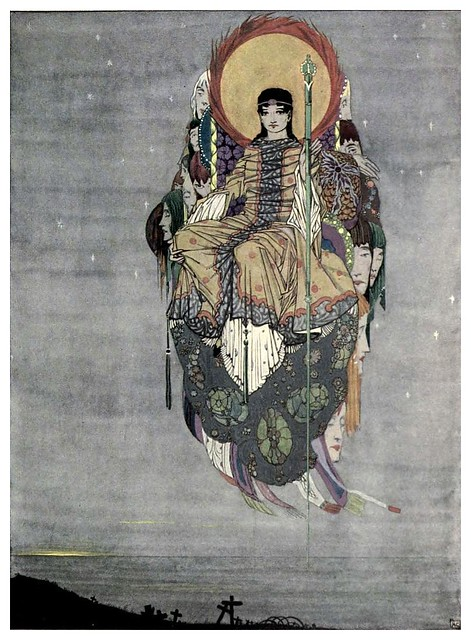 008-La muerte-The year's at the spring…1920- ilustrador Harry Clarke