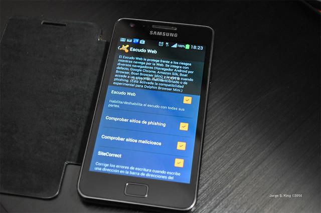 Sistemas de seguridad en smartphones