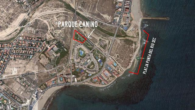 Parque Canino de El Campello (Alicante)