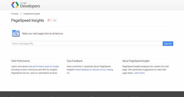 Google Page Speed Insight