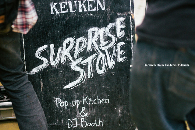 Surprise Stove at Taman Centrum, Bandung