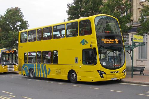 Yellow Buses VGW190 BL14LTJ Volvo B9 / Wrights