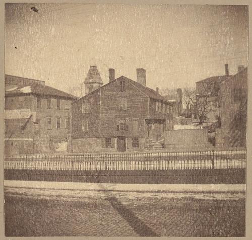 Salem, old bakery, built about 1670.