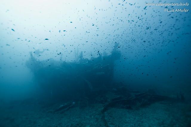 Wreck Malakoff Menorca