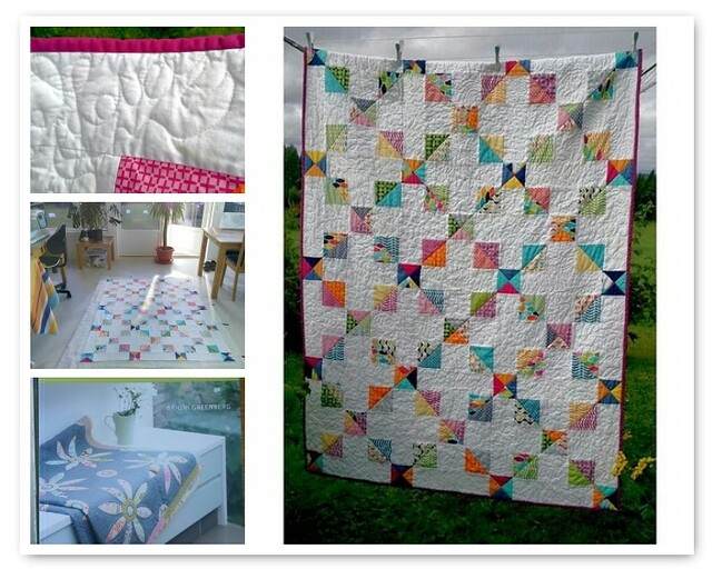 Summer Quilt from Brioni's book!