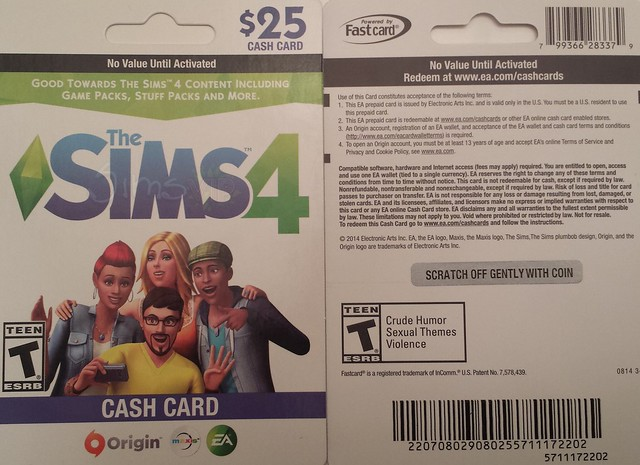 The Sims 4 Cash Card + Game/Stuff Packs Confirmed | SimsVIP