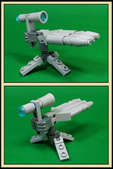 A handy mounted gun
