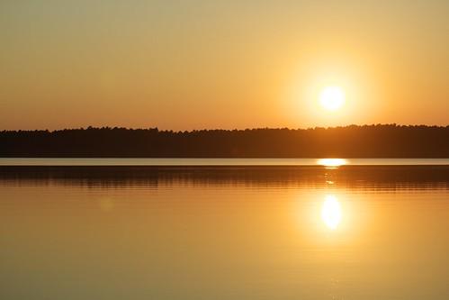sunset canon nc durham northcarolina apex lakejordan 600d 55250mm rebelt3i lakejordanstaterecreationarea