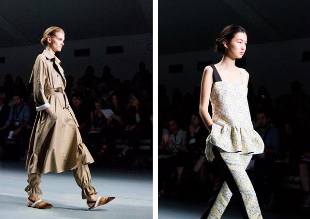 Eudon Choi London Fashion Week SS15
