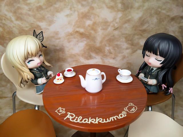 Rilakkuma cafe table 02