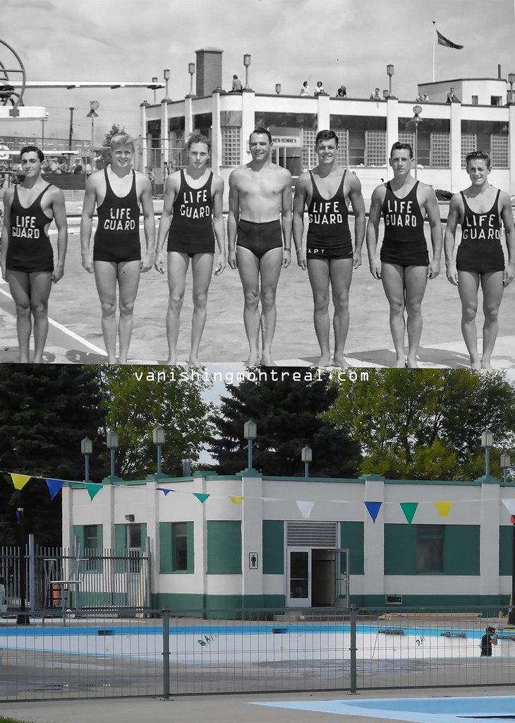 Before and After : Natatorium Verdun