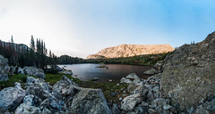 Crystal Lake, Bighorn National Forest, Wyoming, USA.