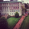 Rainy fall day on campus. #columbia