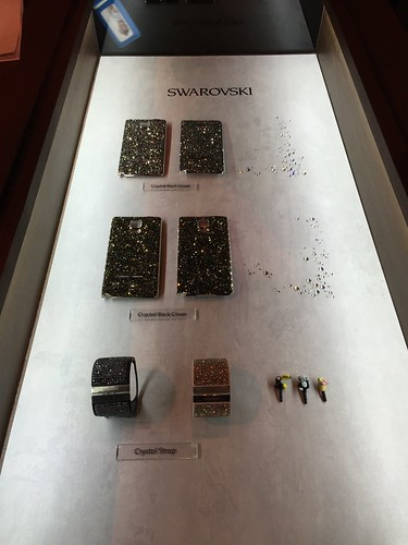 Samsung Galaxy Note 4 World Tour 2014 Singapore - Swarovski Accessories