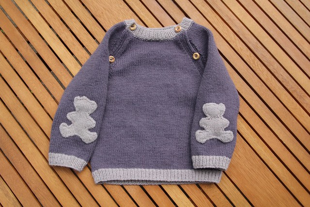 teddy bear jumper