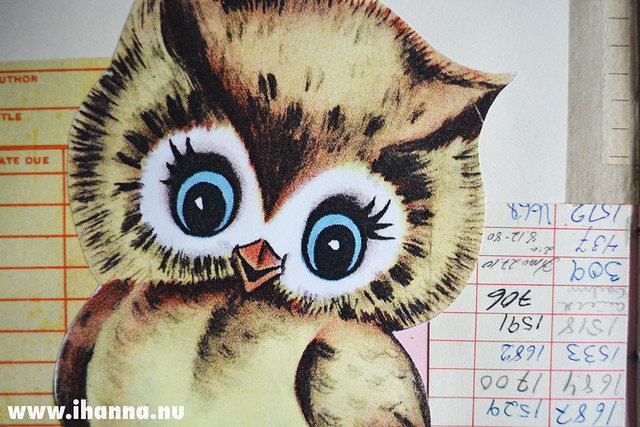 Art Journal detail: Cutest Owl Ever