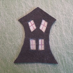 Iron Craft '14 Challenge #20 - Creepy House Luminaries
