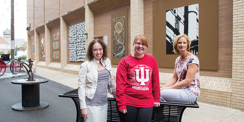 Creations by IU Kokomo artists featured in new art district