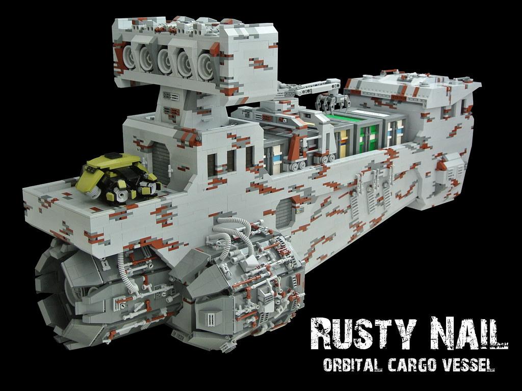 rusty nail frachtschiff lego bei gemeinschaft forum. Black Bedroom Furniture Sets. Home Design Ideas