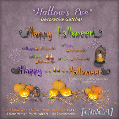 """Hallow's Eve"" - Decorative Gatcha"