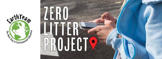 Zero Litter Banner Design