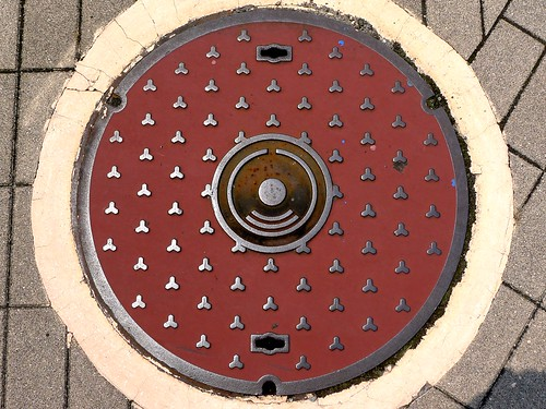 Himi Toyama, manhole cover 4 (富山県氷見市のマンホール4)