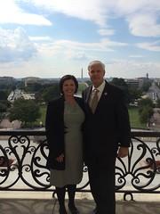 Valerie Dernetz and Congressman Steve Womack