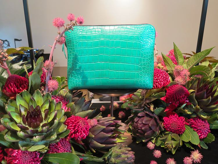 Jade green 31 Minute Clutch by 3.1 Phillip Lim for Lane Crawford