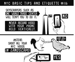#LTEC4121 Tip - Hold Your Mobile Sideways When Video Recording