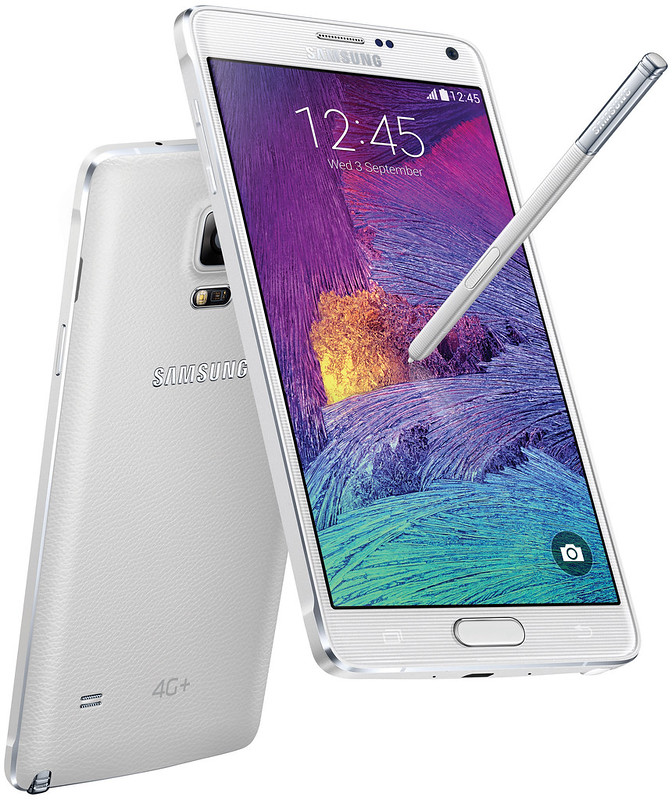 Samsung Galaxy Note 4 4G+ - Frost White