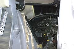 Douglas KA-3B simulator pilot's station