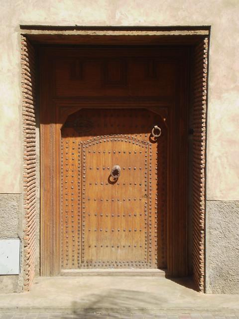 One of Marrakesh's many beautiful doors