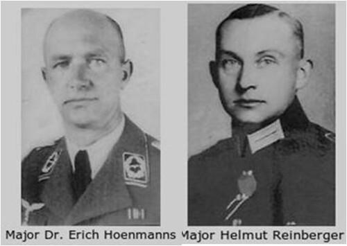 Erich Hoenmanns y Helmut Reinberger