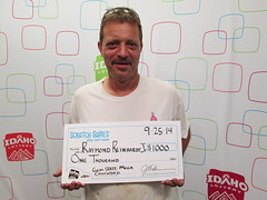 Raymond Reinhardt Jr - $1,000 Gem State Mega Cashword