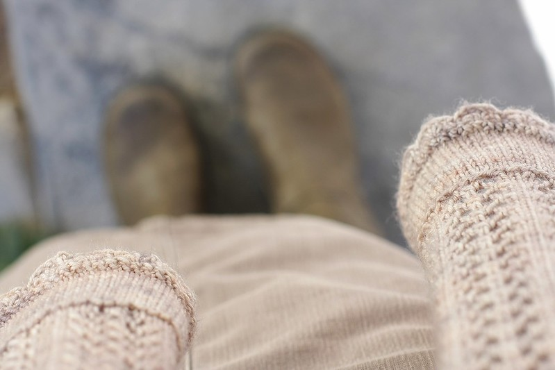 boot weather and my scarf!