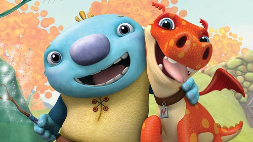 Make mornings with your kids fun and educational with Wally and Norville in Wallykazam, showing Monday to Friday