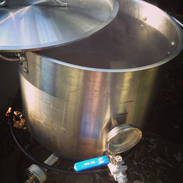Fall day-time to brew beer.