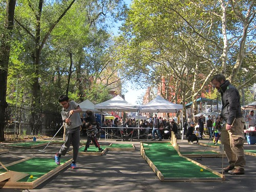 Grub Street Food Festival 2014, Seward Park: Mini Golf
