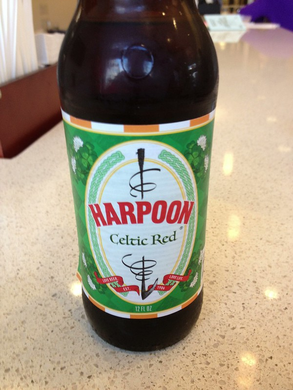 A delicious Harpoon beer